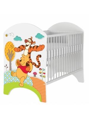 BabyBoo Dětská postieľka Disney Medvedik PÚ a  Tygrík - 120x60cm