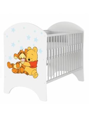 BabyBoo Dětská postieľka Disney Medvedik PÚ Baby - 120x60cm