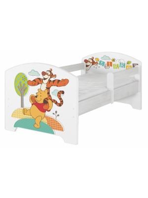 BabyBoo Detská postel Disney - Medvídek PÚ a tigrík, D19 - 160x80