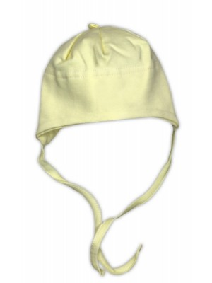 Bavlnená čiapočka NICOL - žltá - 68 (4-6m)