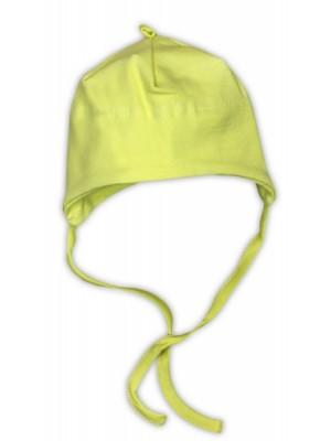 Bavlnená čiapočka NICOL - zelená - 56 (1-2m)
