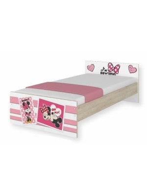 BabyBoo Detská junior posteľ Disney 180x90cm - Minnie UPS, D19 - 180x90