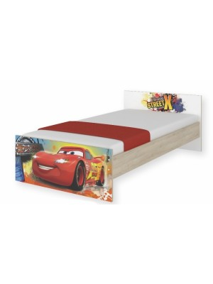 BabyBoo Detská junior posteľ Disney 180x90cm - Cars, D19 - 180x90