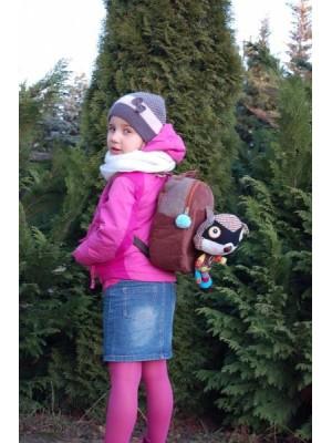 EcoSnoopers Detský batôžtek,  batoh, Mýval hnědý