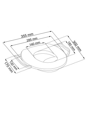 Keeeper Adaptér - Mini tréningové sedátko na toaletu  CARS