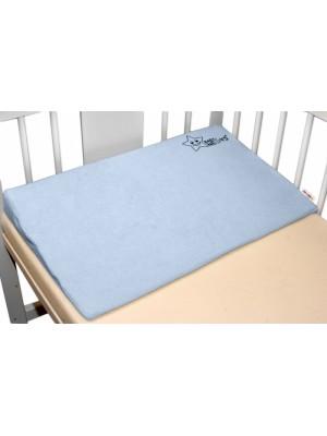 BABY NELLYS Zvýšená poloha/klin - modrá