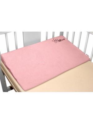 BABY NELLYS Zvýšená poloha/klin - růžová