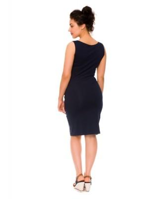 Be MaaMaa 2-dielne tehotenské/dojčiace šaty Sia - granát, vel´. S -  S (36)