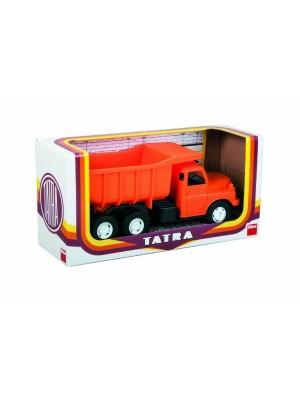 Teddies Auto Tatra 148 plast 30cm oranžová sklápač v krabici