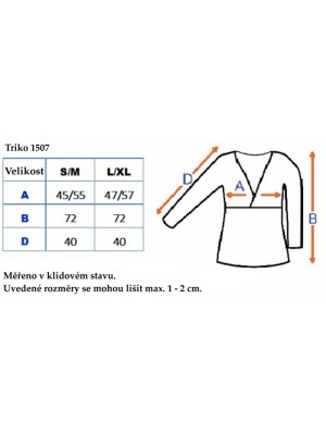 Be MaaMaa Tehotenské, dojčiace triko 3/4 rukáv - grafit, vel´. L/XL - L/XL